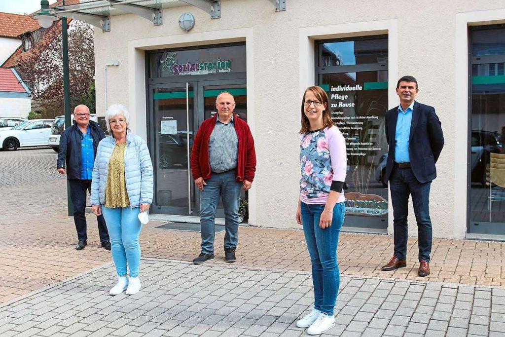 Neues Führungsteam der Sozialstation Pfalzgrafenweiler